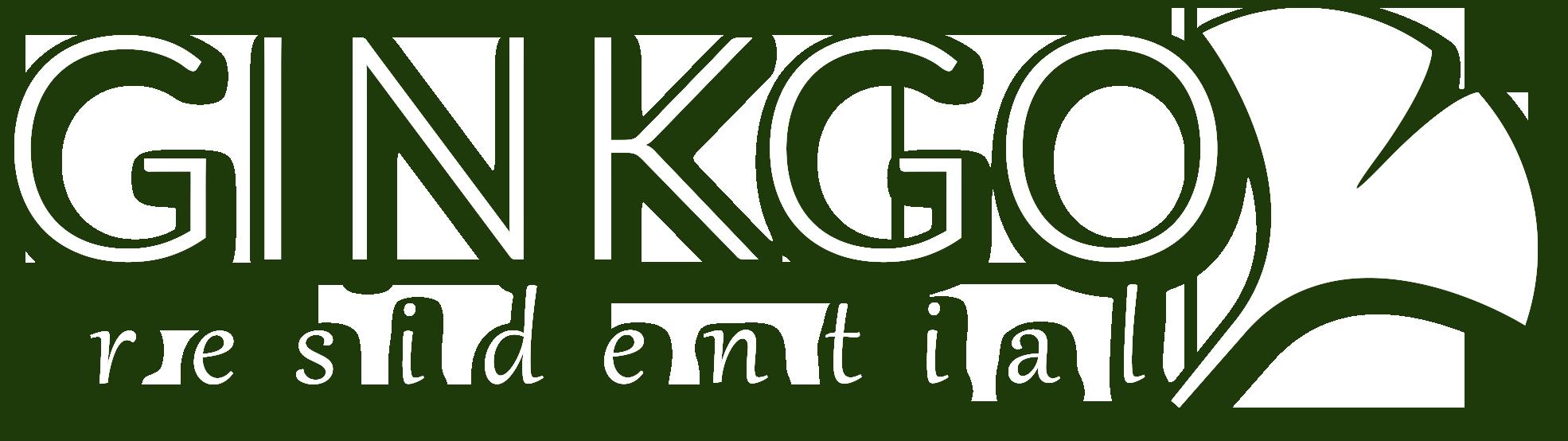 Ginkgo Residential | logo banner