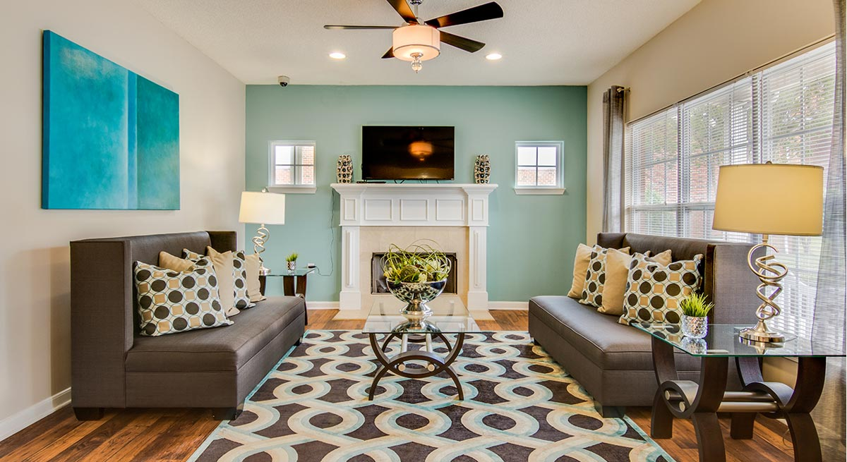 Ginkgo Residential | Living Room
